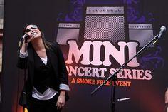 Kate Ceberano, Nicabate Mini Concerts Melbourne