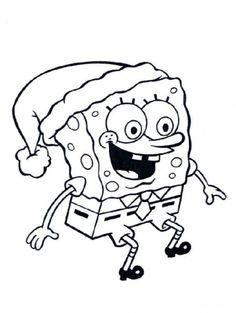 Sponge Bob Squarepants Coloring Pages picture 1