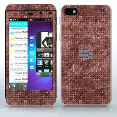 Pixeled Composition Brown color pixels phone skin sticker for Cell Phones / Blackberry Z10   $7.95