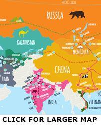 Trans Mongolian Railway & Silk Road Tours : Vodkatrain