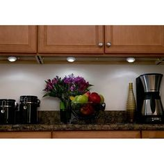 Mvp white single undercabinet led puck light style 8f061 led shop utilitech pro plug in under cabinet 3 light led puck light at lowes canada find our selection of under cabinet lighting at the lowest price aloadofball Images