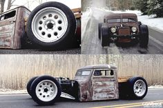 Awesome Rat Rod built by Josh Joyce of Villiage Customs Va Veach VA... Give the guy some credit Pinners...
