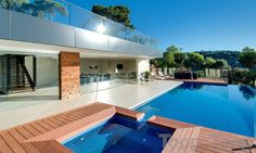 Swimming pool. Outdoors. Living. Luxury. Mitcham. Adelaide. InDaily.