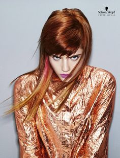 Electric Youth (Long). Essential Looks Spring-Summer 2013. Schwarzkopf Professional.
