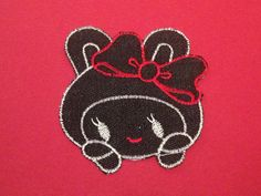 Muñeca kawaii parche para planchar patch clothing por YBatchi