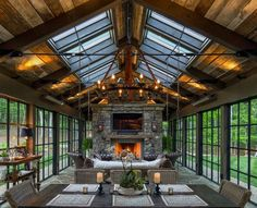 These Rustic Fireplaces Are Perfect For Cold Winter Nights (26 Photos)  - Today, there are all manner of fireplace styles, and they come as slick and polished as you can dream up. But if you like the comfort of an old-world ...
