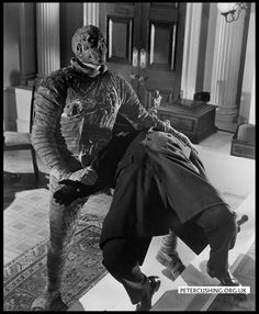 hammer films | HAMMER FILMS PRODUCTIONS: 'THE MUMMY' (1959) EXTRA GALLERY: PETER ...