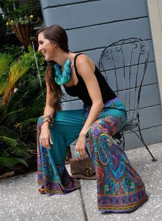 Fringe with Benefits: Trending Tuesday: Palazzo Pants