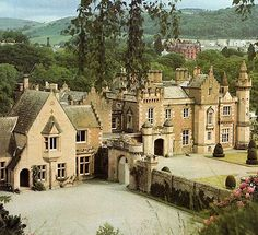 Abbotsford House, Galashiels, near Melrose, Scotland .... Abbotsford is a historic country house in the Scottish Borders, on the south bank of the River Tweed. A Scots Baronial mansion, it was built by the historical novelist and poet, Sir Walter Scott,