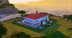 Villa By The Sea by Brinessa at Mod The Sims via Sims 4 Updates