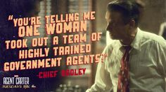 "S1 Ep6 ""A Sin To Err"" - Peggy Carter isn't ""one woman,"" Dooley. #AgentCarter"