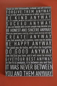 do it anyways..