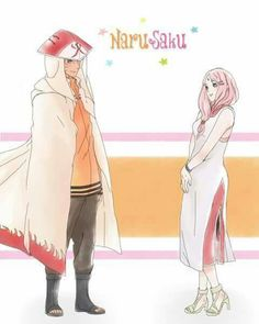 Naruto Uzumaki x Sakura Haruno | NaruSaku / SakuNaru | Orange / Yellow & Pink / Red | Heaven & Earth | The King & Queen | Hero & Heroine | Naruto Shippuden the last naruto gaiden | manga anime couple ship | OTP