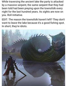 Dungeons And Dragons Characters, D&d Dungeons And Dragons, Dnd Characters, Fantasy Creatures, Mythical Creatures, Dnd Stories, Dungeon Master's Guide, Dnd Funny, Dragon Memes