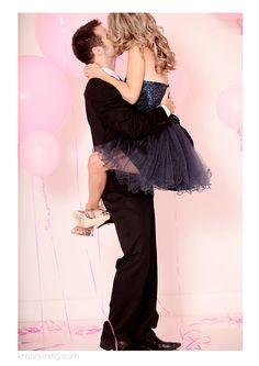 Petal Boutique, Engagements, Charlotte NC Wedding Photographer, Kristin Vining Photography, balloons, pink, love