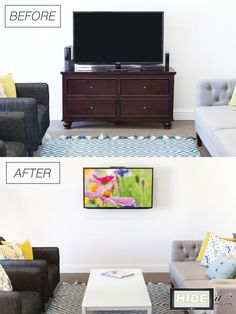 Looking for a TV Stand Solution? How about ELIMINATING your TV stand?   You can with a few HIDEit Mounts! Mount your Cable Box and other Electronic Components on the wall, behind your TV. Order now and say 'bye bye' to that clunky 90's TV stand.