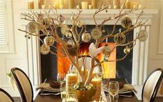Centrotavola natalizi fai da te - Come fare un centrotavola originale per la tavola di Natale