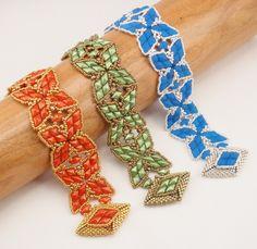 Instructions for Shuriken's Embrace Bracelet by njdesigns1