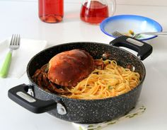 Spaghetti al granchio!
