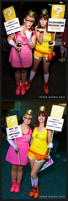 Princess Peach and Daisy #Mario #Cosplay | SDCC 2013