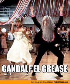Gandalf el Grease