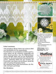Lea Sonderheft - LA 543 Hakeln - Rosana Mello - Álbumes web de Picasa - tem gráfico