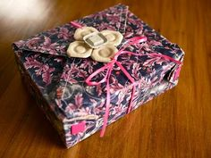 Reversible Fabric Gift Box