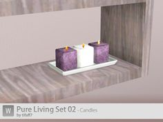 tifaff7's Pure Living Set 02 - Candles