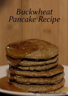 See tried pancakes. These pancakes are crispy on the outside, light and chewy on the inside, with a nutty whole grain flavor. Buckwheat Recipes, Buckwheat Pancakes, Pancakes And Waffles, Whole Food Recipes, Cooking Recipes, Iron Skillet Recipes, Freezer Meals, Breakfast Recipes, Free Breakfast
