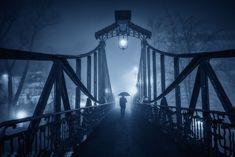 Captivating misty nightscapes in Opole, Poland by Pawel Uchorczak   #artphotography #landscape #landscapephotography #night #nightphotography #nightscape #paweluchorczak #photography #poland #streetphotography