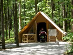 Wheelchair accessible camping in Whistler, BC