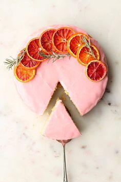 blood orange cardamom cake
