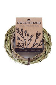 Juniper Ridge Sweetgrass Smudge Stick