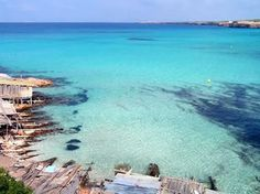 Routes in Spain - Ibiza - Formentera Vacation Destinations, Dream Vacations, Vacation Spots, Beautiful Islands, Beautiful Beaches, Great Places, Places To See, Formentera Spain, Beach Vibes