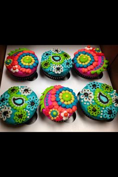 Vera Bradley inspired cupcakes