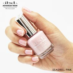 Seashell Pink is a creamy pink that's perfect for your clients who prefer a natural everyday look. Nail Nail, Everyday Look, Gel Polish, Pretty Nails, Pedicure, Sea Shells, Cosmetics, Natural, Awesome