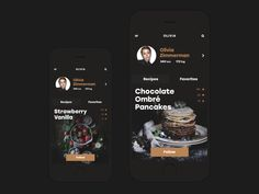 """Which one is your favorite app design? Fresh Food Mobile App Designs For Your Inspiration"""" is published by Premiumuikits in Muzli - Design Inspiration. Mobile App Design, Mobile Ui, User Interface Design, Ui Ux Design, Flat Design, Conception D'applications, Cooking App, Ui Design Inspiration, Interactive Design"""