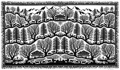 Scherenschnitt Alpenland 69.5 x 37.7 cm, Nr. 5041 Paper Cutting, Prints, Diy, Papercutting, Bricolage, Printed, Diys, Handyman Projects, Do It Yourself
