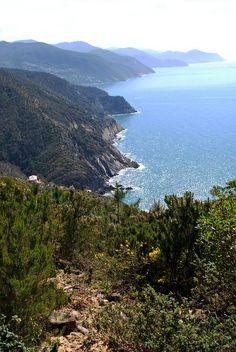 Da Riva Trigoso a Moneglia, Liguria, Italy