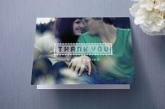 Picture Perfect Moment Thank You Cards by Serenity Avenue at minted.com