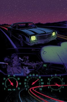 Love it when something has 9000 hits before it has credits. We made this with Jason Latour for our comic Loose Ends, you can buy it here. Tumblr is the Wild West. -chris  rico. Thanks Ron. pixoholic:  dellbby:  I'm giving you a nightcall, to tell you how I feel.  Loose Ends by Brunner and Renzi.