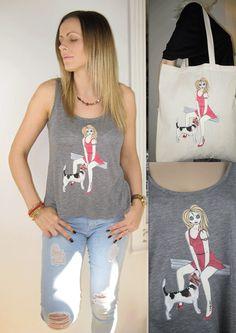 Escolha uma T-shirt Alice Brands ou superior e combinar uma sacola Shoulder leve. Ordem mundial formar estes sites: etsy.com/shop/AliceBrands stores.ebay.co.uk/ALICE-BRANDS www.alicebrands.co.uk