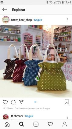 Costura criativa 2019 Costura criativa The post Costura criativa 2019 appeared first on Bag Diy. Granny Square Bag, Bag Patterns To Sew, Patchwork Bags, Fabric Bags, Cotton Bag, Cotton Thread, Cloth Bags, Handmade Bags, Bag Storage