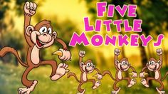 #fivelittlemonkeys #nurseryrhyme #rhymes #nurseryrhymes #kidssongs #babysongs #toddlerrhymes - Five Litle Monkeys + More Popular Nursery Rhymes