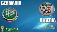GERMANIA - ALGERIA - Mondiali 2014 - 30-6-2014 - Diretta live in streaming