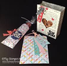 Image result for mini treat bag stampin up