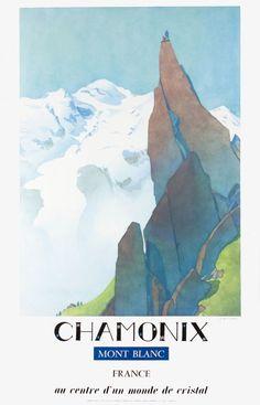 Chamonix, Mont-Blanc France, au centre d'un monde de cristal