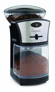 Capresso Coffee Burr Grinder * To view further, visit http://www.amazon.com/gp/product/B004DAYHXO/?tag=pincoffee-20&pkl=060716071614