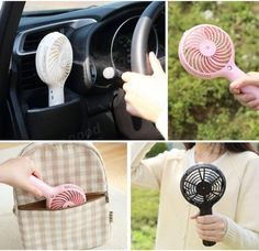 Summer Mini USB Misting Hand Fan Water Spray Cooling Portable Fan Face Humidifier Sale - Banggood.com