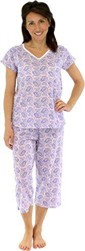 Short Sleeve and Capri Cotton Pajamas (STCJ385PWP-SML) Sl... http://www.amazon.com/dp/B01A9ESRP6/ref=cm_sw_r_pi_dp_1Kamxb0VCF8SY